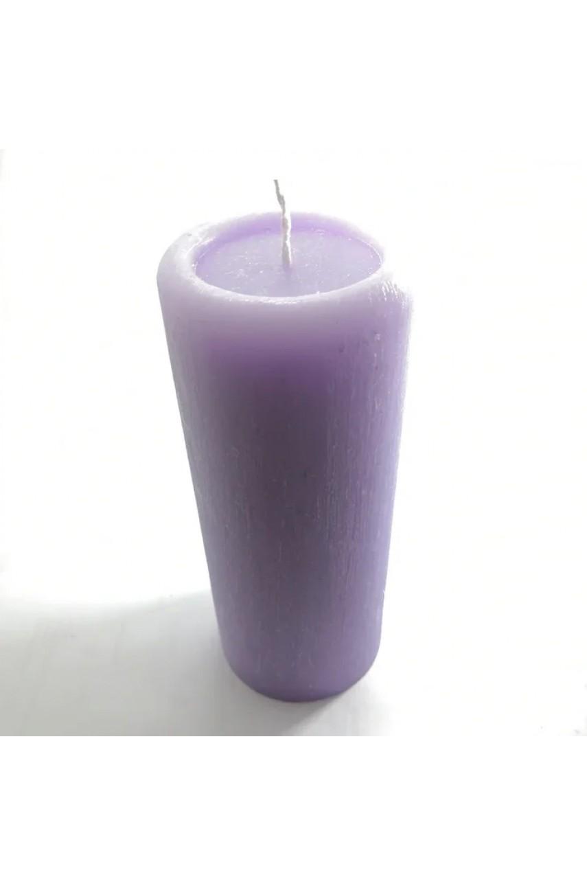 Декоративные пеньковые свечи 170х70мм (Сирень)