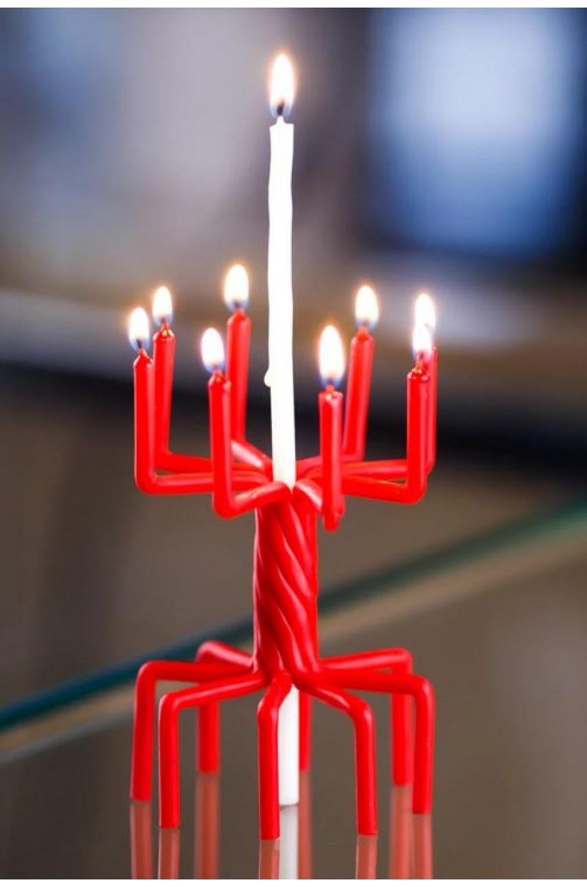 Плетеные ритуальные (Цыганские) свечи (на Удачу)