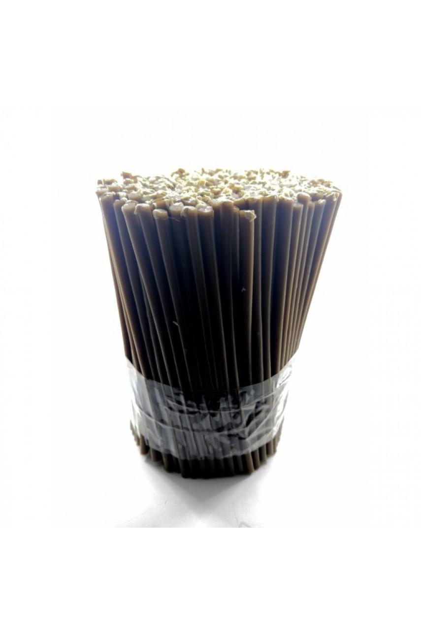 Свечи восковые коричневые №140 (1кг)