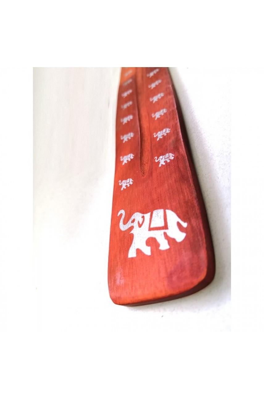 Подставка для аромопалочек  цветная деревянная с рисунком