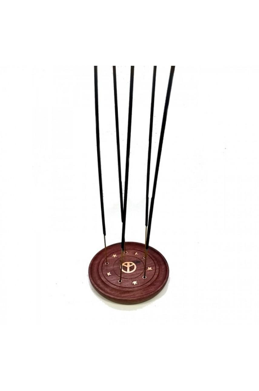Подставка для палочек и конусов круглая, диаметр 10 см