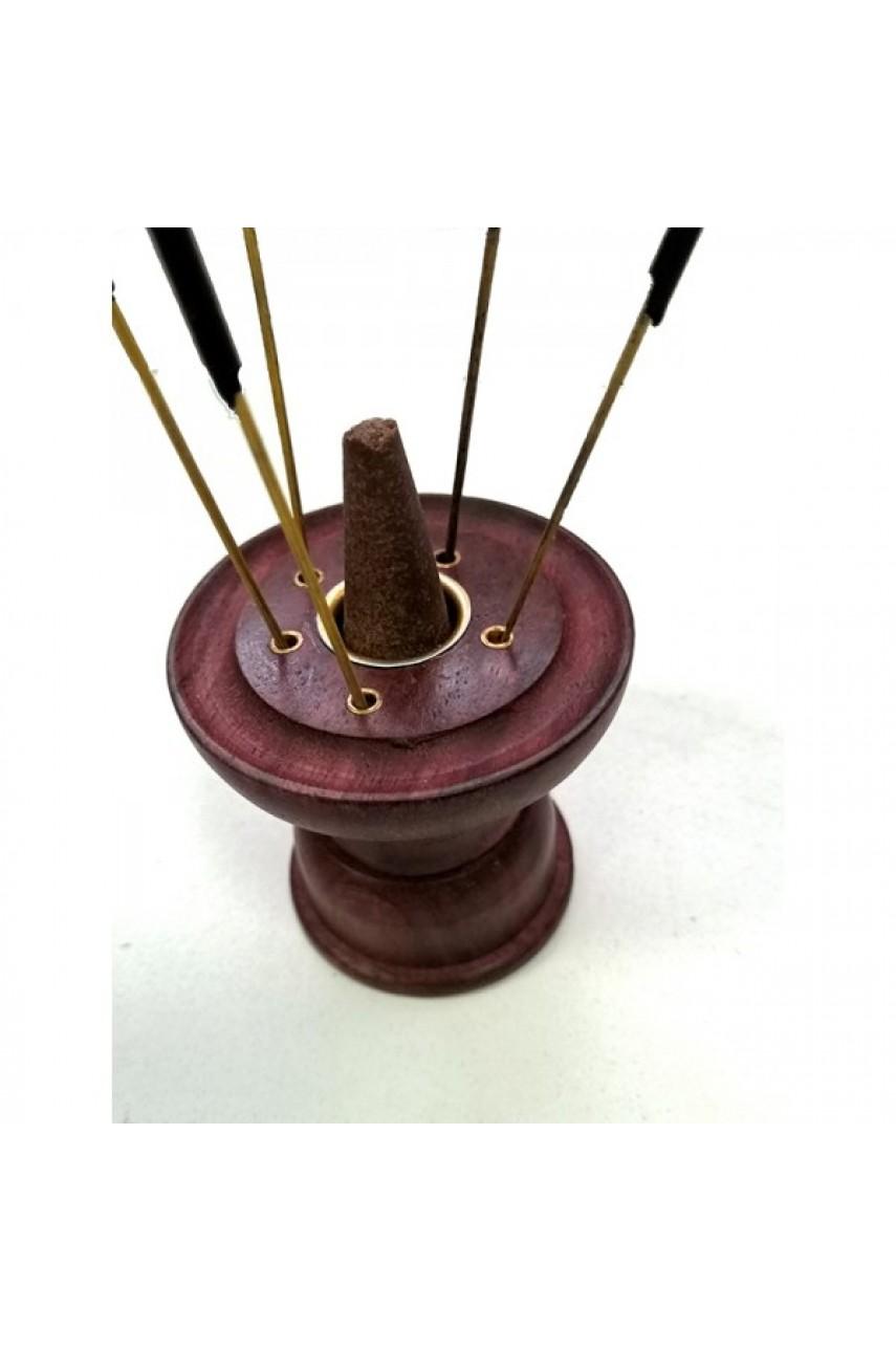 Подставка для палочек и конусов круглая, диаметр 6 см, высота 5,5 см