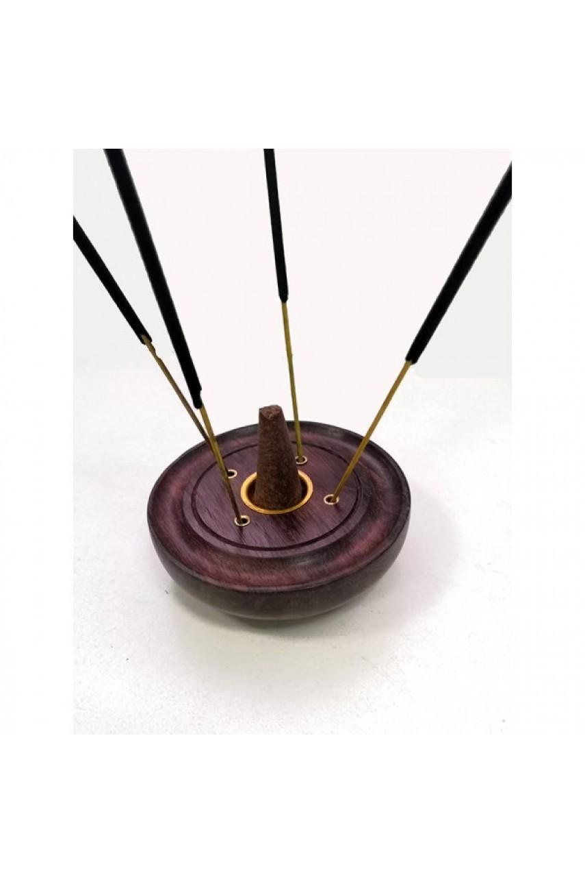 Подставка для палочек и конусов круглая, диаметр 7,5 см, высота 2,5 см