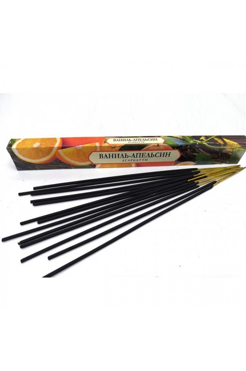 Аромапалочки (Ваниль-апельсин), 20 шт